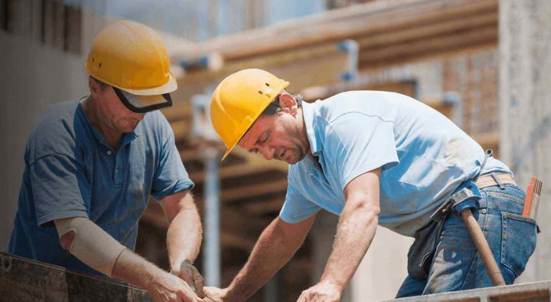 Diverse beroepen binnen de bouwsector